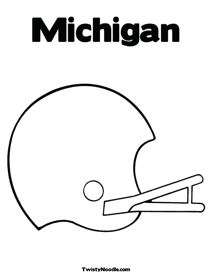 685x886 Michigan Coloring Book State Symbol Coloring Page Download State