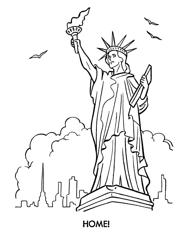 670x820 Statue Liberty Coloring Page Beautiful Free Printable Statue