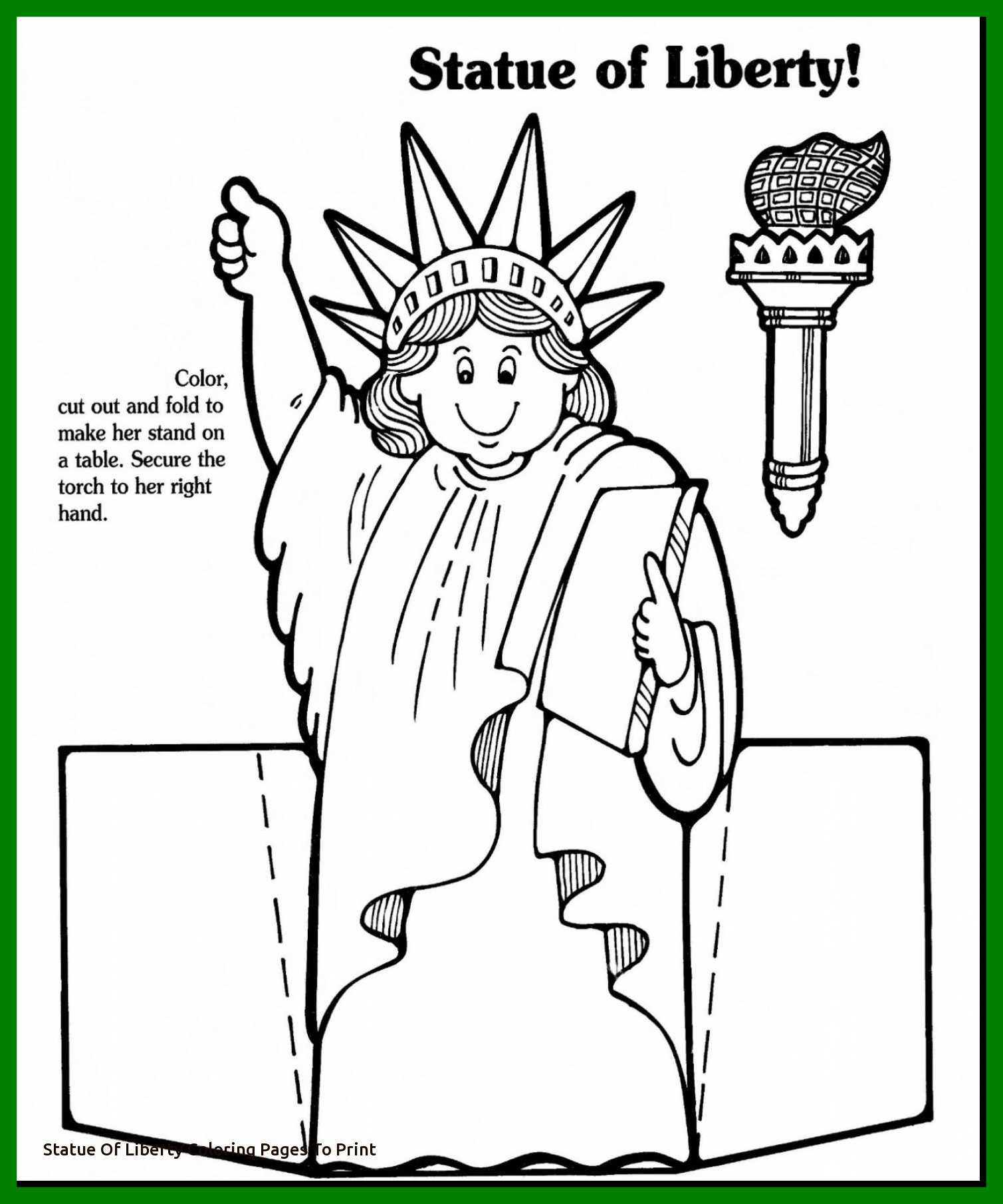 1509x1810 Unbelievable Statue Of Liberty Coloring Page Printable Adult Easy