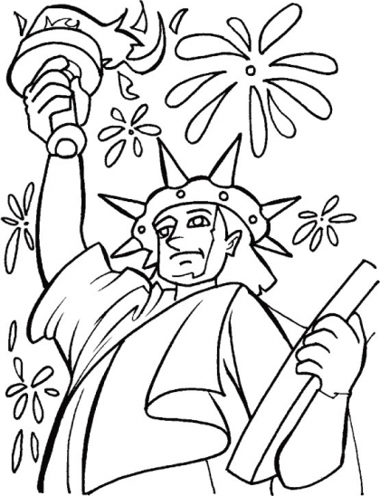 420x548 Statue Of Liberty Coloring Page Download Free Statue Of Liberty
