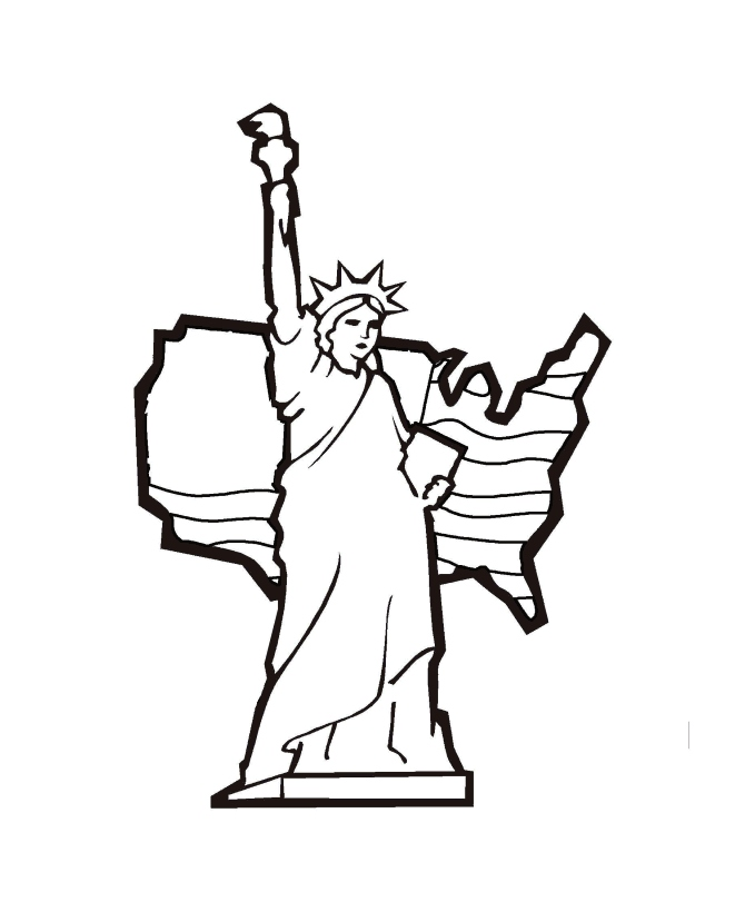 670x820 Statue Liberty Coloring Page New Free Printable Statue