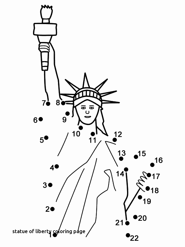 600x800 Printable Coloring Pages Statue Of Liberty Coloring Pages
