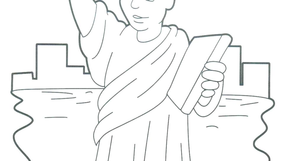 960x544 Statue Of Liberty Coloring Pages