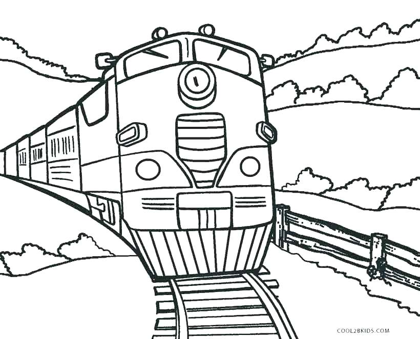 820x663 Steam Engine Coloring Sheets Steam Train Coloring Pages