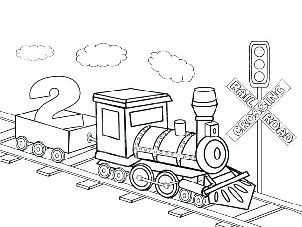 618x464 Steam Engine Train Coloring Pages Kids Coloring Train Coloring
