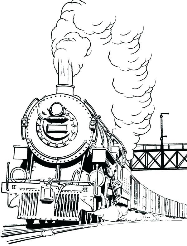 600x790 Trains Coloring Pages Coloring Pages Trains Coloring Page Train