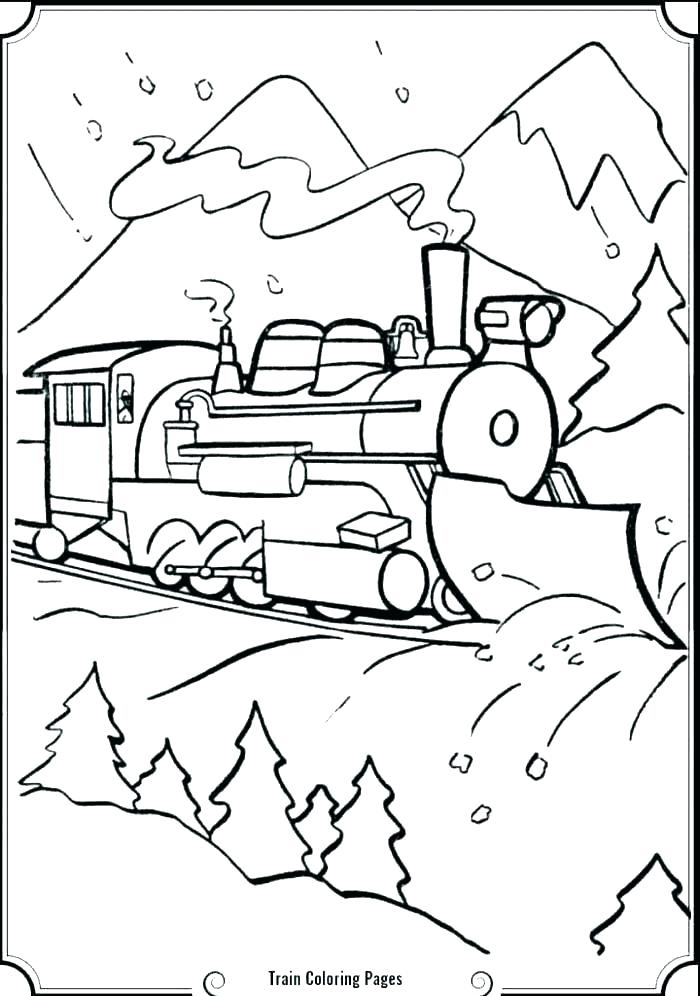 700x996 Coloring Pages Trains