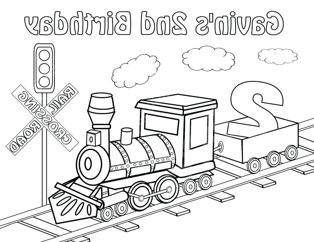1024x791 Steam Train Coloring Pages A Kids Locomotive Of Page Engine Showy