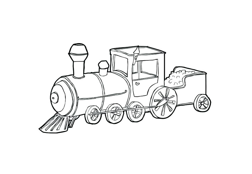 872x605 Steam Train Coloring Pages Coloring Pages Free The Train Coloring