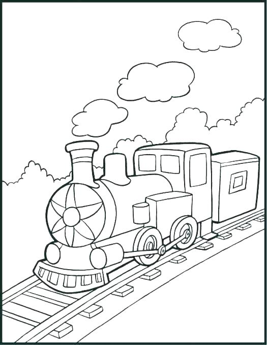 525x678 Steam Train Coloring Pages Printable Train Coloring Pages Image