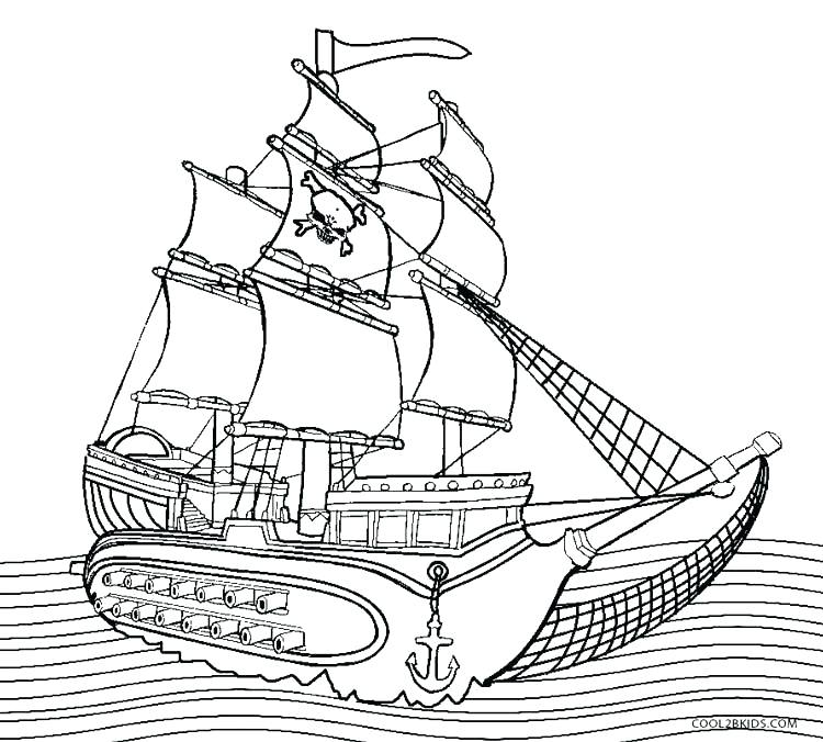 750x676 Steamboat Coloring Page Coloring Pages Boats Pirate Boat Coloring