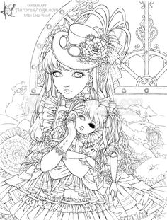 236x311 Best Photos Of Steam Punk Coloring Pages