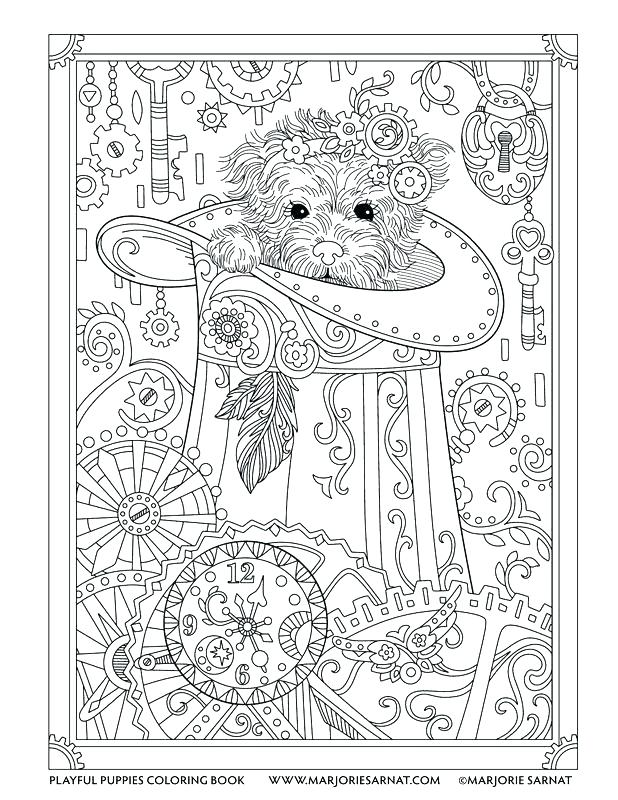 618x800 Steampunk Coloring Book Steampunk Coloring Page Steampunk Animals