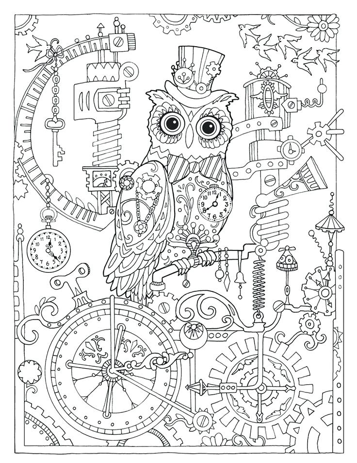 736x952 Steampunk Coloring Pages Image Result For Steampunk Coloring Pages