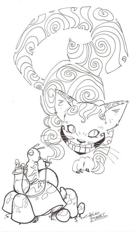 462x800 Steampunk Coloring Pages For Adults
