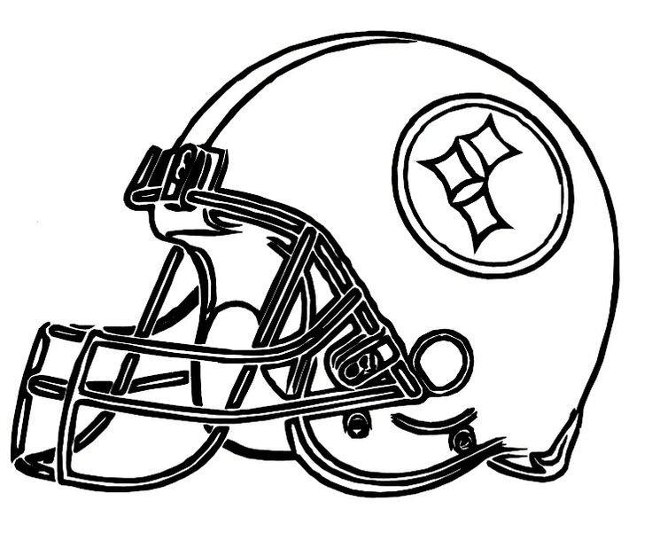 736x609 Best Coloring Pages Images On Nfl Football