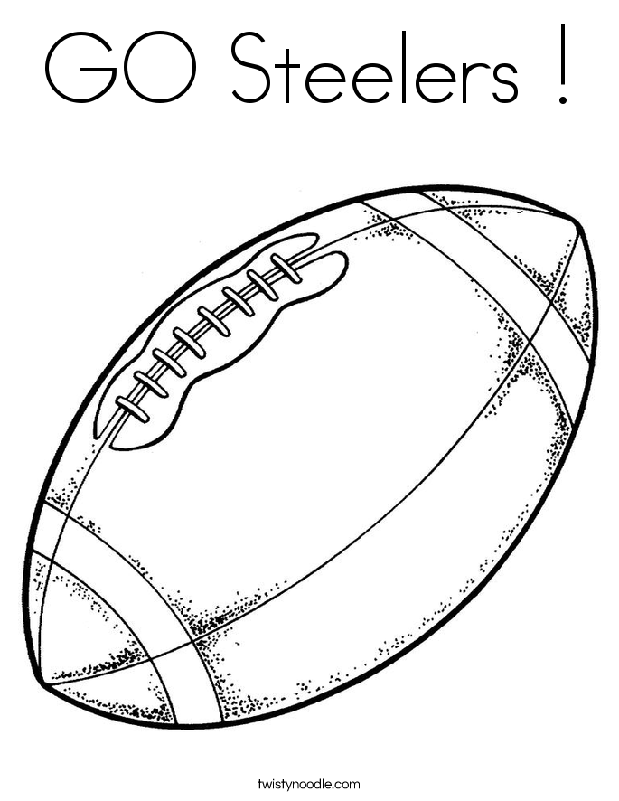 685x886 Go Steelers Coloring Page