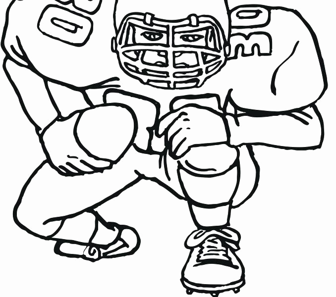 678x600 Steeler Coloring Pages Football Coloring Pages Free Printable