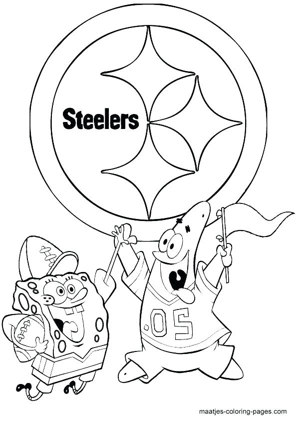 595x842 Steelers Coloring Page Coloring Pages For Kids Download Gallery
