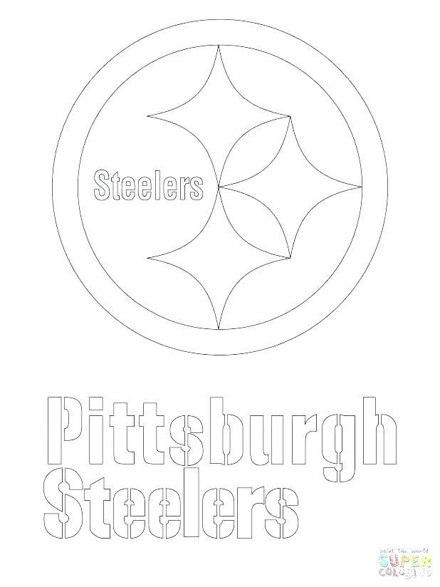 618x824 Steelers Coloring Page