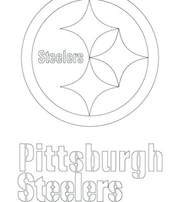 357x400 Steelers Coloring Page