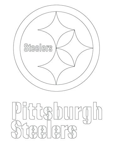 360x480 Steelers Football Coloring Pages Professional