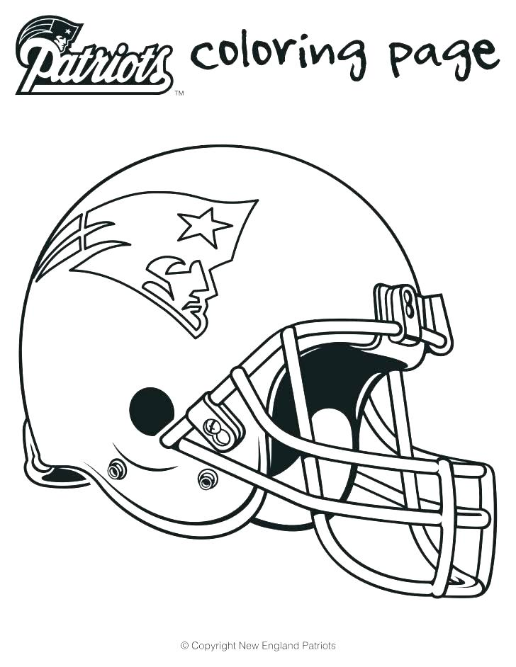 728x942 Football Helmet Coloring Pages Things To Wear Football Helmet