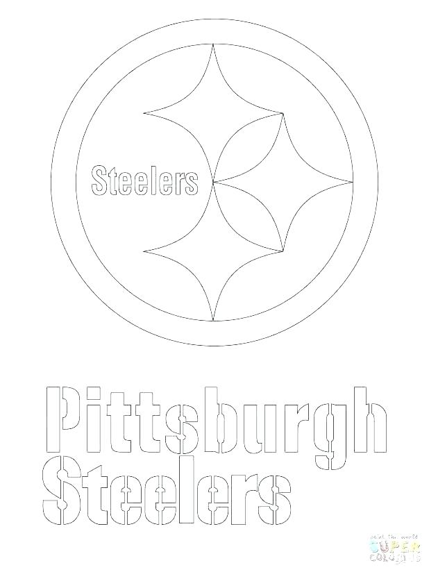 618x824 Pittsburgh Steelers Coloring Pages Coloring Page Big Coloring