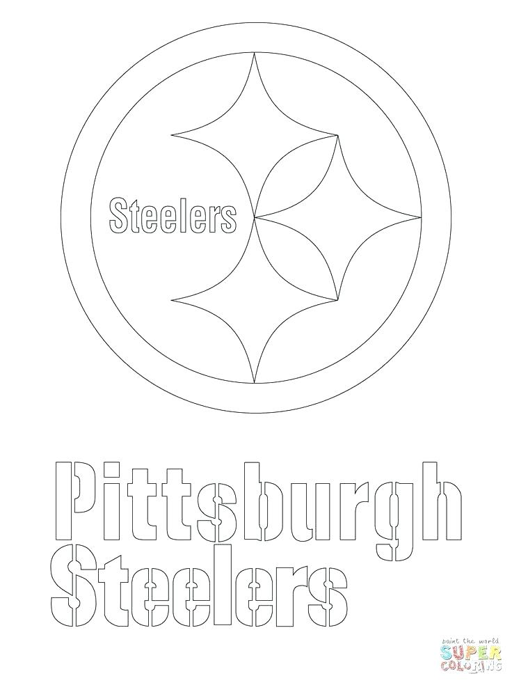 736x981 Pittsburgh Steelers Coloring Pages Logo Coloring Page Logo