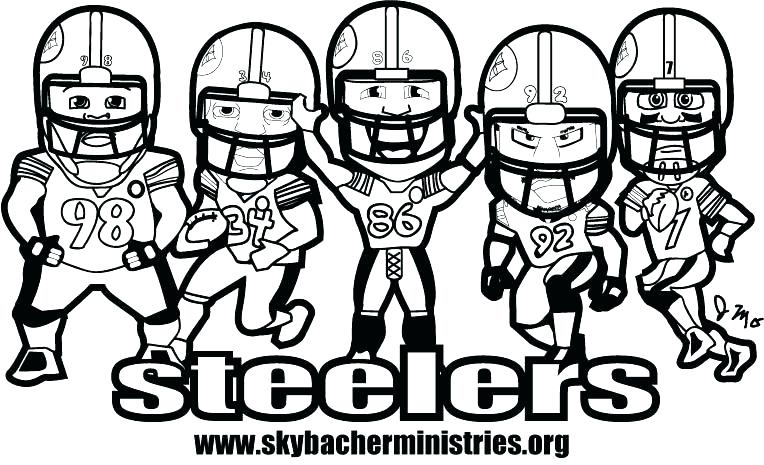 764x465 Steelers Coloring Page Coloring Page Coloring Pages Ministries Inc