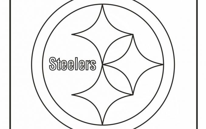 678x425 Steelers Logo Coloring Page Pittsburgh Steelers Nfl American