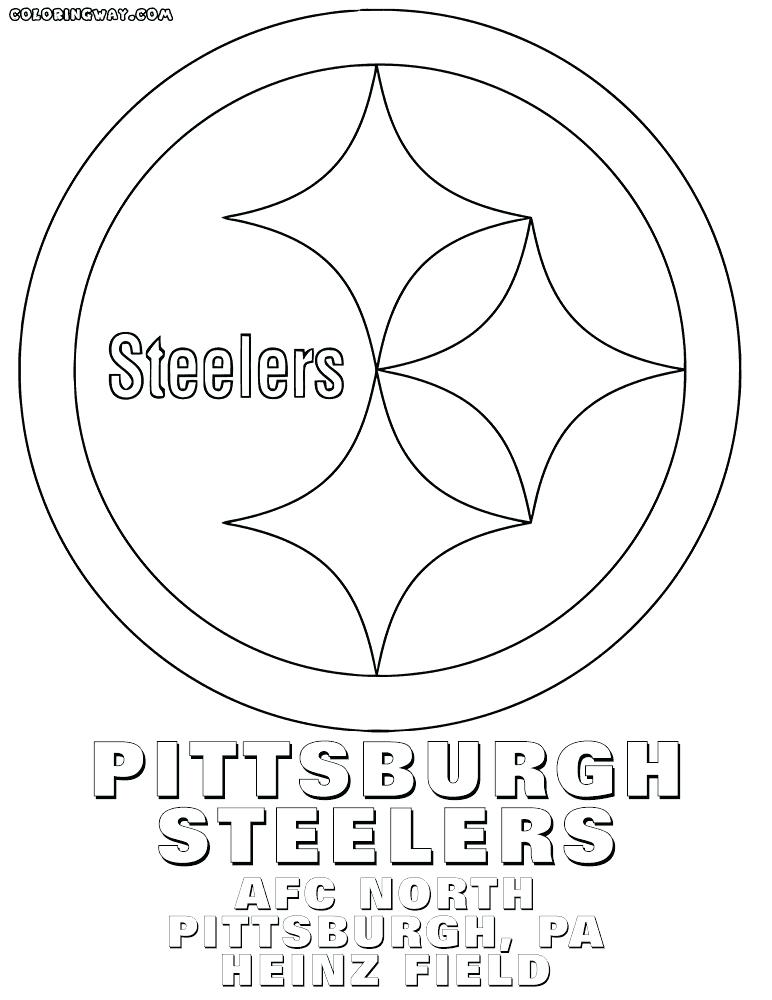 772x1000 Coloring Pages Printable Free Part Steelers Symbol Page Logo