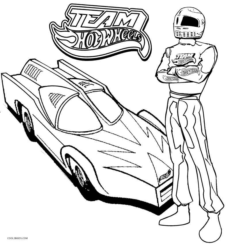 796x850 Printable Hot Wheels Coloring Pages For Kids