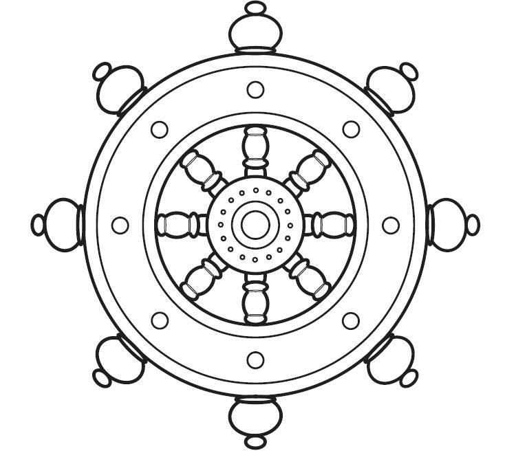 750x659 Dharma Wheel Tattoo Countdown To Freedom Dharma