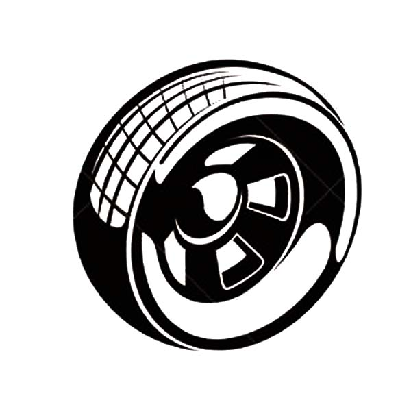 600x600 Car Parts Racing Tire Coloring Pages Best Place To Color