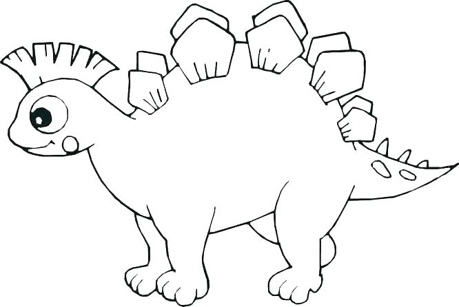 The Best Free Stegosaurus Coloring Page Images Download From 79