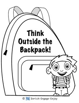 270x350 Backpack Jack Stem Steam Coloring Pages Exit Tickets