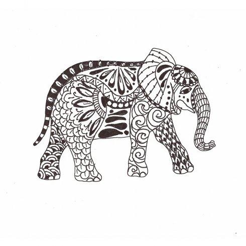 490x490 Animal Doodle Stencils