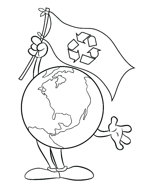 600x775 Recycle Coloring Pages Free Printable Recycle Coloring Pages