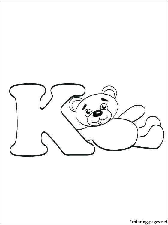560x750 Printable Printable Letter Stencil K