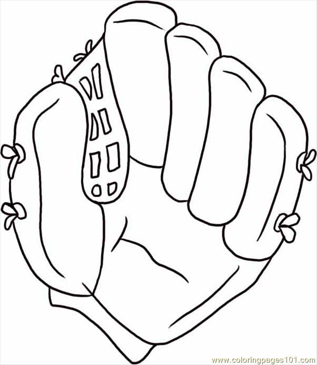 650x750 Baseball Glove Coloring Page Draw A Baseball Glove Step Coloring