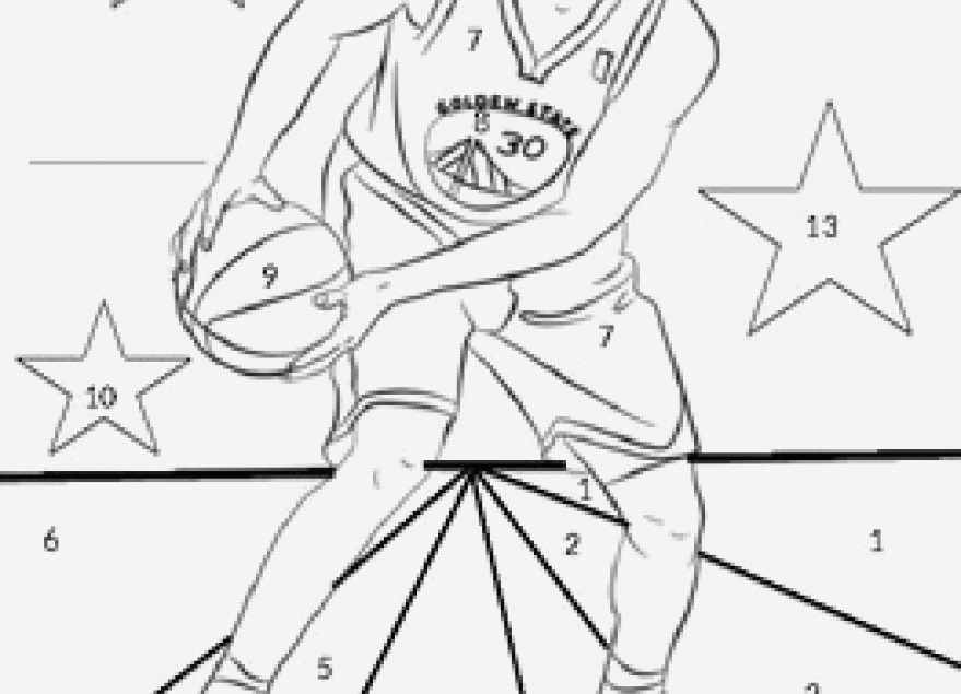 879x635 Display Steph Curry Coloring Page The Latest