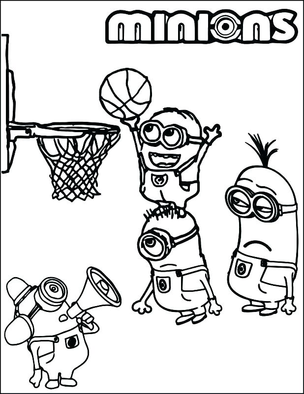 618x802 Basketball Coloring Pages Free Basketball Coloring Pages