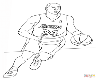 The Best Free Kobe Coloring Page Images Download From 82 Free Coloring Pages Of Kobe At Getdrawings