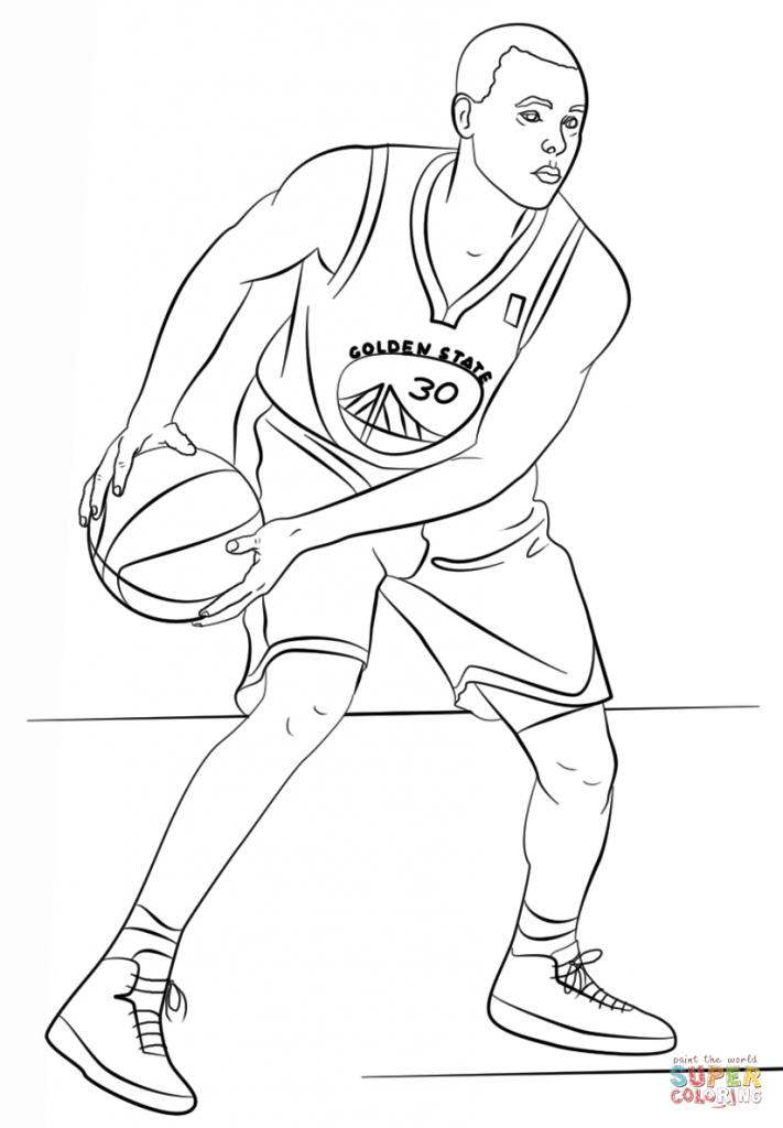 711x1024 Stephen Curry Coloring Pages