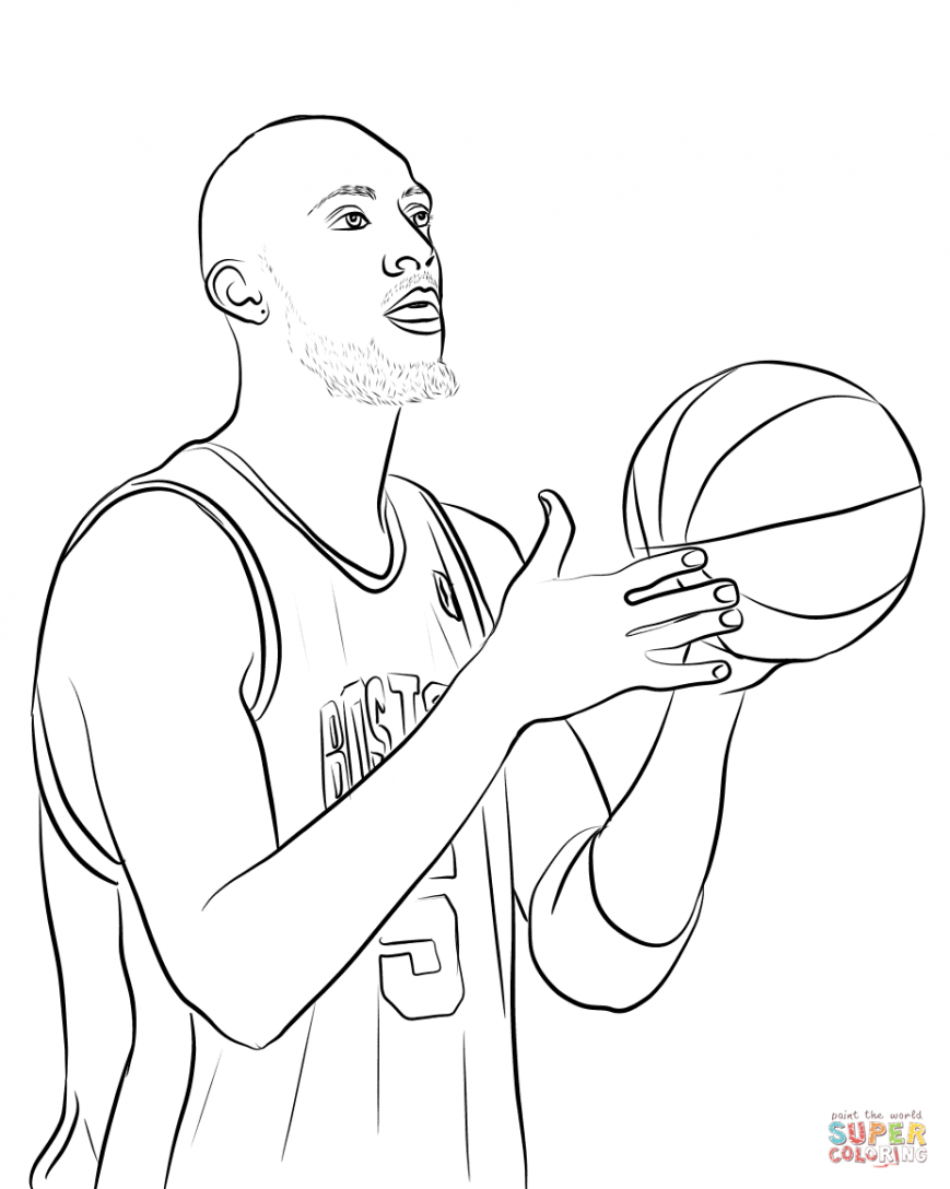 Stephen Curry Shoes Coloring Pages At Getdrawings Com Free For
