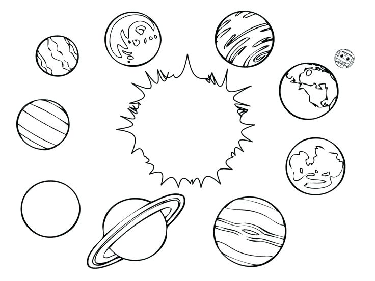 736x552 Space Coloring Page Space Coloring Book Packed With Solar System