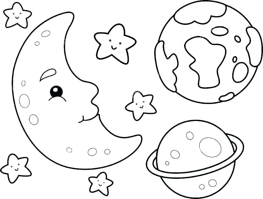 863x653 Space Coloring Page Space Coloring Page Space Coloring Page Space