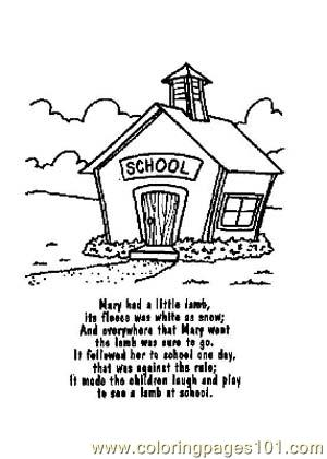 300x420 Nursery Rhyme Coloring Pages