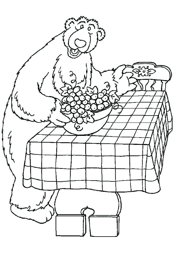 600x875 Bear In The Big Blue House Coloring Pages Bear Big Blue House